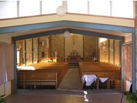 Sacred Heart Church - view from entrance - click to enlarge